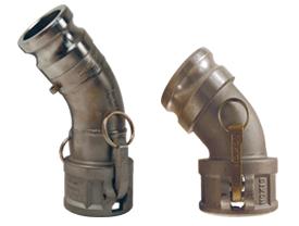Dixon Type DA 45° Elbow Adapter x Coupler