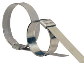 Dixon® Roll-Over Type Smooth ID Band Clamp