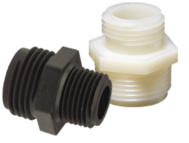 Tuff-Lite® Male GHT x Male NPT Adapter