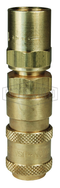 A-Series Pneumatic Reusable Barb Coupler