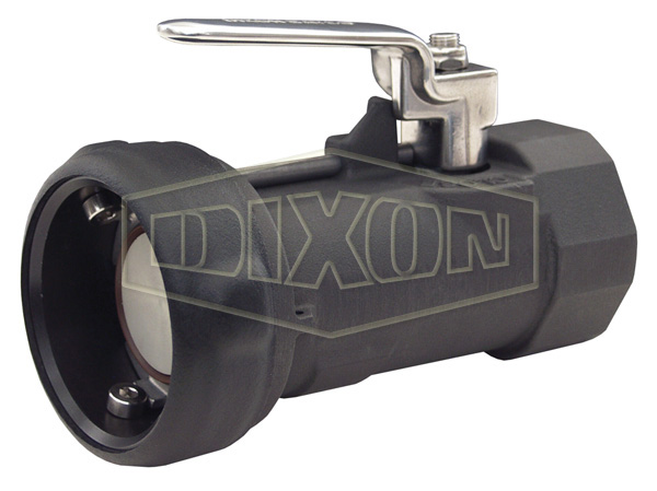Bayonet Style Dry Disconnect Straight Coupler x Female NPT