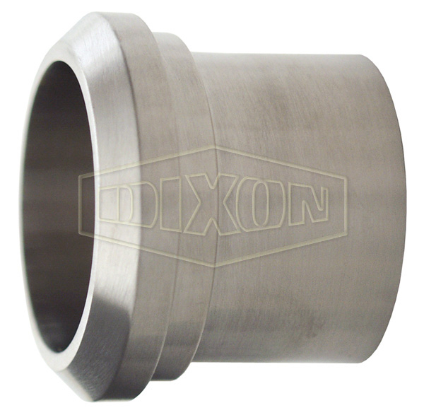 Long Plain Bevel Seat Weld Ferrule