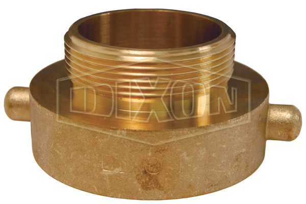 Domestic Hydrant Adapter Pin Lug Brass