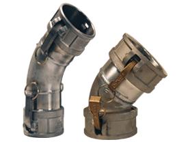 Dixon® Type DD 45° Elbow Coupler x Coupler