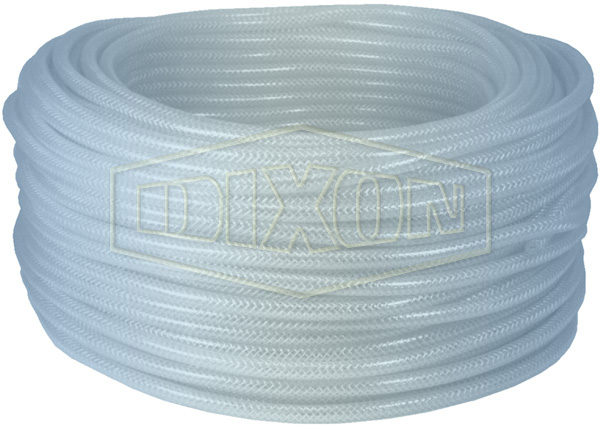 Clear PVC Braided Tubing