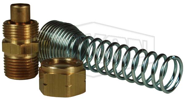 Coil-Chief Self-Storing Air Hose Assembly Kit