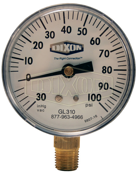 Compound Gauge Lower Mount