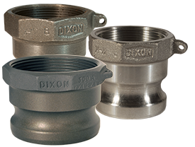 Dixon® Cam & Groove Type A Adapter x Female NPT
