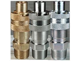 Dix-Lock™ N-Series Interchange Male Head x Male Threaded End Plug