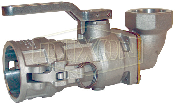 Bayloc™ Dry Disconnect Coupler x 90° Swivel Female NPT