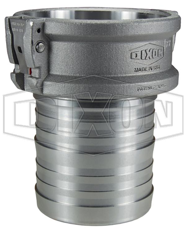 EZLink® Armless Cam & Groove Type C Coupler x Hose Shank