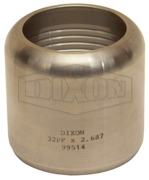 Internal Expansion Sanitary Style Flow Chief Ferrule