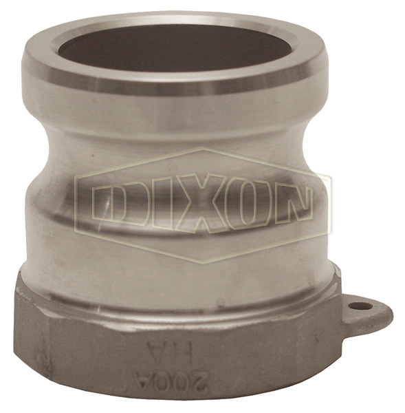 Cam & Groove Hastelloy Type A Adapter x Female NPT