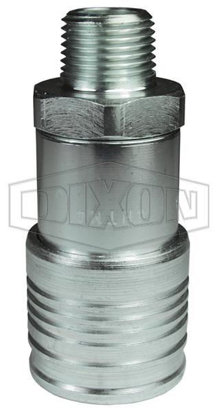 DQC HT-Series Flushface Male Threaded Coupler