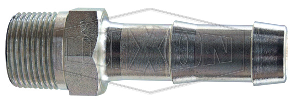 King Steel Hex Nipple for 2 Clamps