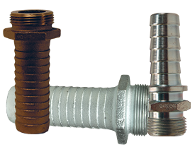 Long Shank Hose Male NPSM Coupling