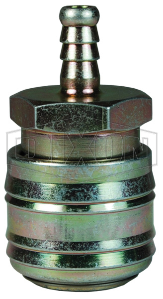 M-Series ARO Pneumatic Automatic Standard Hose Barb Coupler