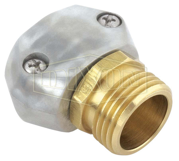 GHT Zinc Male Hose Fitting