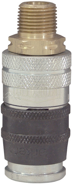 Parker E-z-mate Industrial Coupler Male NPT