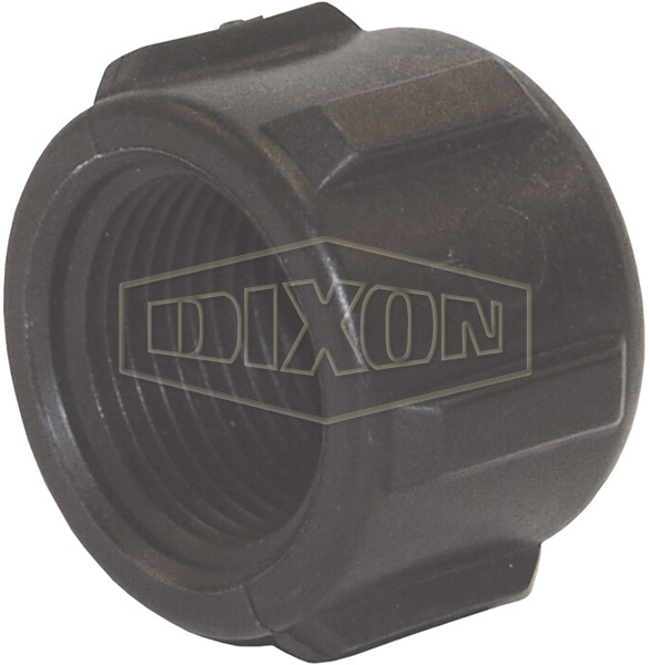 Schedule 80 Threaded Polypropylene Pipe Cap