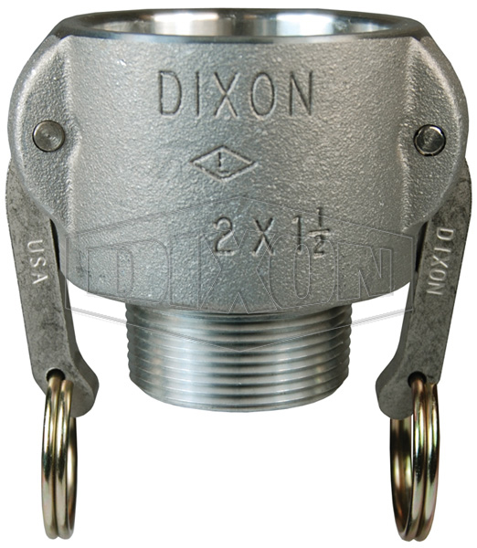 Cam & Groove Reducing Type B Coupler x Male NPT