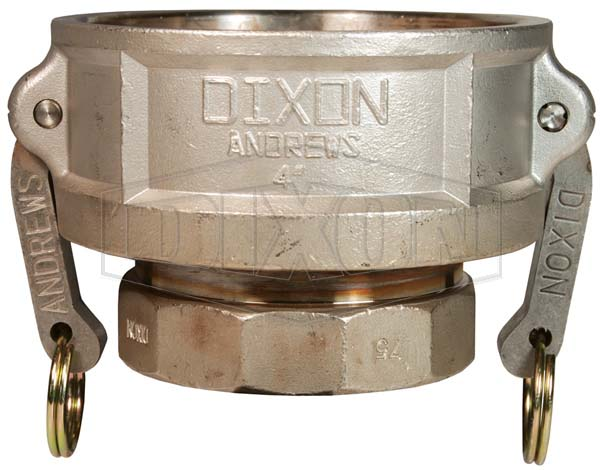 Cam & Groove Reducing Type D Coupler x Female NPT