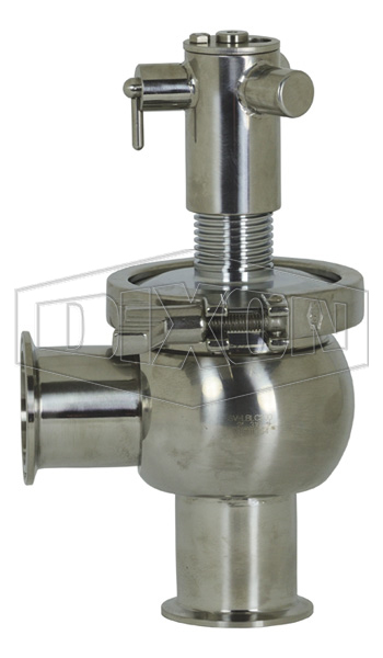 SV-Series Single Seat Hygienic Valve L Body Manual