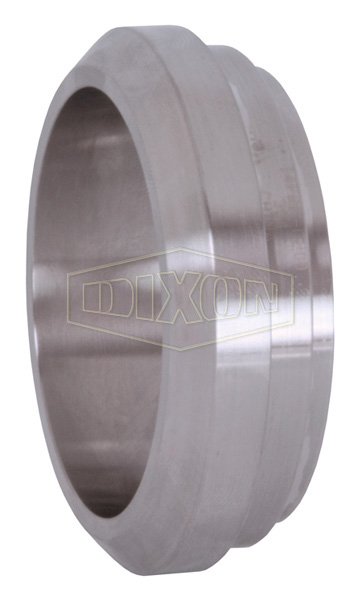 Short Plain Bevel Seat Weld Ferrule