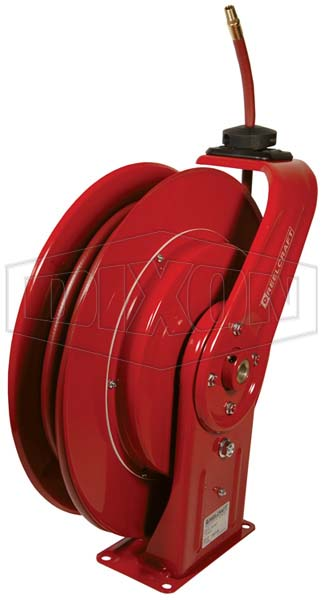 Reelcraft® 7000 Series Spring Driven Hose Reel with Hose