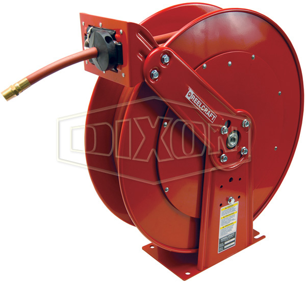 Reelcraft® 80000 Series Spring Driven Hose Reel with Hose