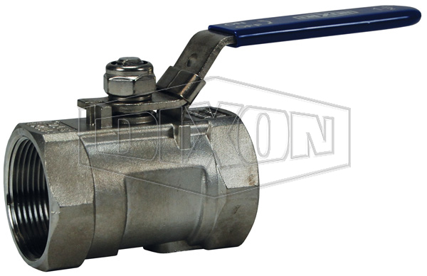 Stainless Steel Ball Valve Reduced Port, Locking Handle