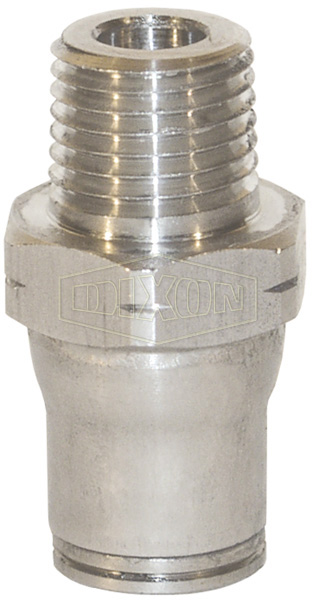Legris Stainless Steel Push-In Male Connector