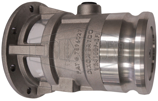 Vapor Return Valve TTMA Flange with In-line Sight Glass