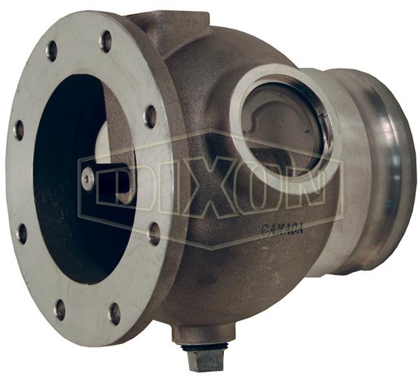 Vapor Return Valve TTMA Flange Bulb Design