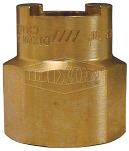 Dix-Lock™ N-Series Bowes Interchange Female Threaded Coupler