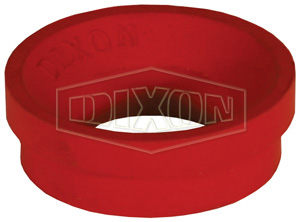 1-5//16 Diameter Pack of 50 Dixon Valve /& Coupling Air King AWS6 Air Hose Fitting Red Neoprene Washer 5- Pack