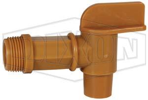 openings manual handle jumbo faucets drum plastic vestil dp fits quot faucet jdft