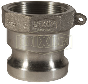 1 250 psi Dixon Boss-Lock 100-F-AL Type F Cam and Groove Adapter