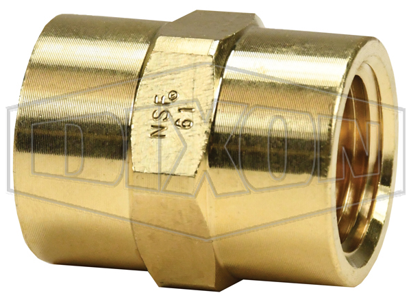 Female NPTF Hex Coupling