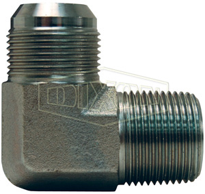 Midland 2403-2-2 Straights Steel Flare 37degree Tube Union 5//16-24 JIC Thread x 5//16-24 JIC Thread