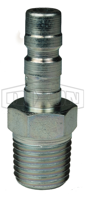 A-Series Pneumatic Male Threaded Plug