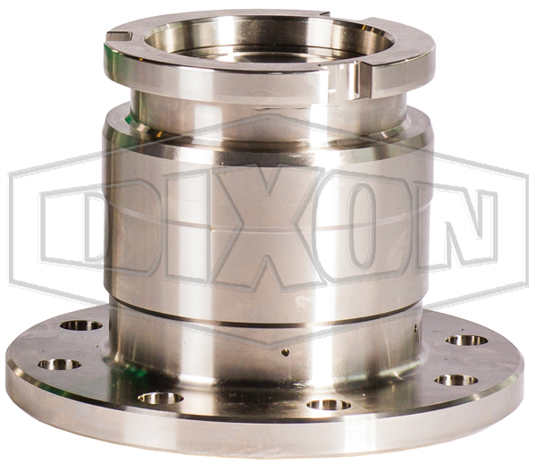 MannTek Cryogenic Dry Disconnect Adapter-Tank Unit x 150# Flange