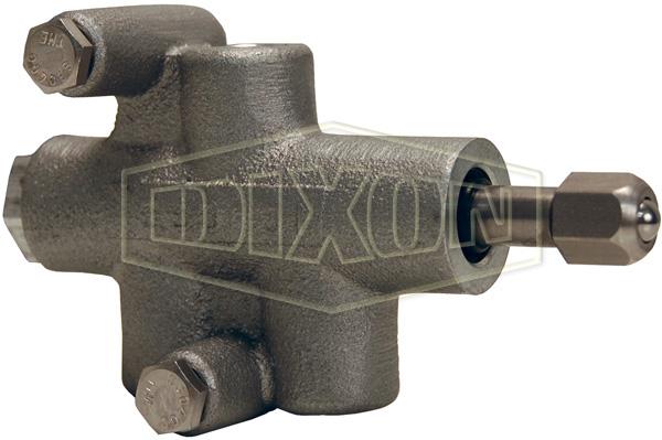 Air interlock valve roller ball plunger pneumatic dixon