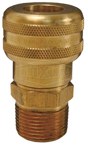 Air Chief Industrial Semi-Automatic Male Threaded Coupler