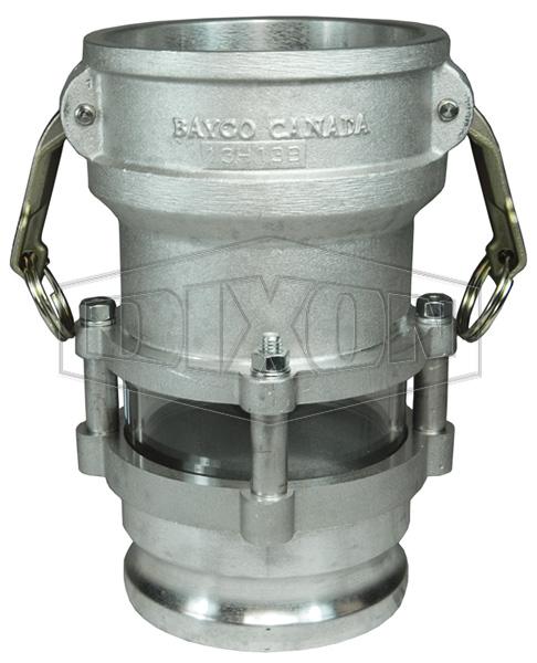 dry bulk clump buster aluminum buna n dry material