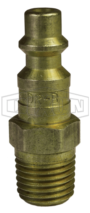 DF-Series Pneumatic Male Threaded Plug