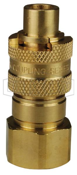 Dix-Lock™ N-Series Bowes Interchange Female Threaded Plug