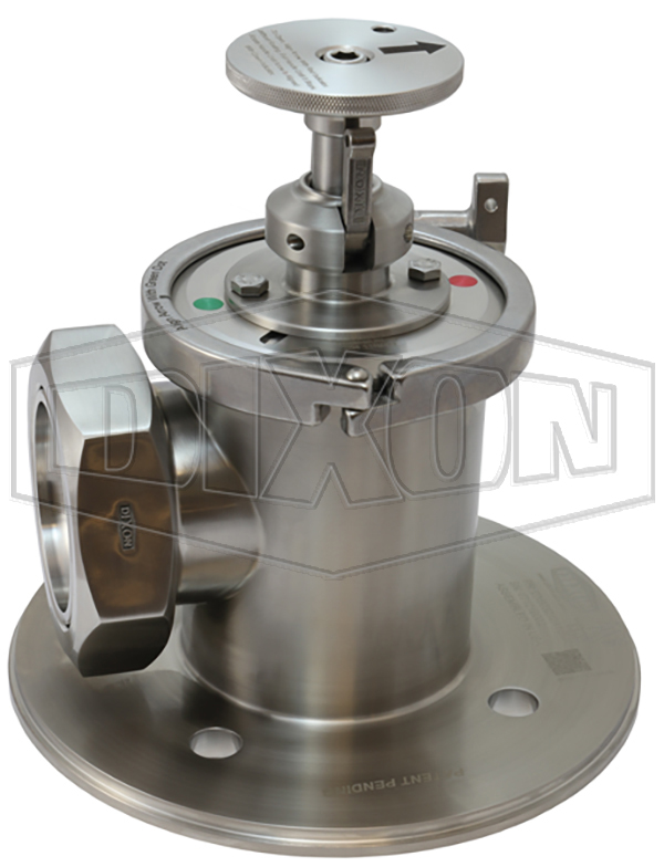 DX60 Series Hygienic Tanker Outlet Valve