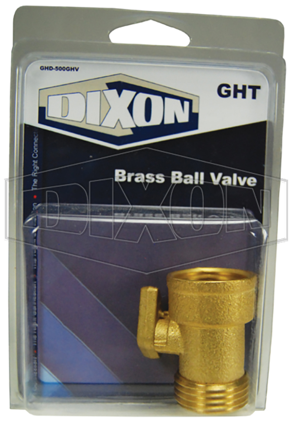 GHT Brass Ball Valve - Retail Packaged
