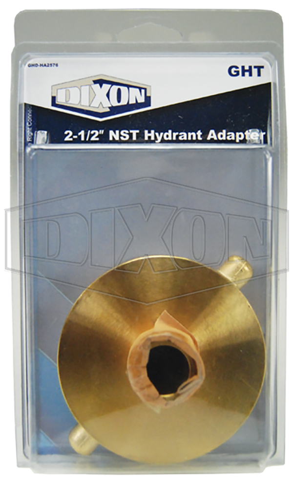 "2-1/2"" NST Hydrant Adapter - Retail Packaged"